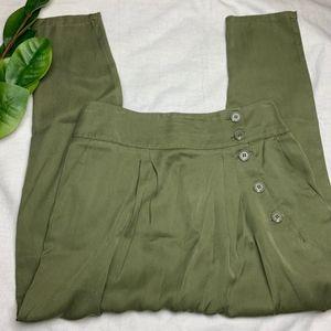 Forever 21 Olive Green Harem Pants  • Size Medium